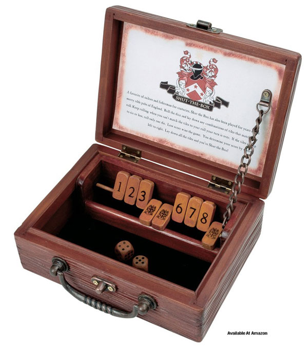 shut the box game with dice