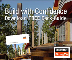 cover of simpson strong tie ebook on deck building