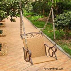 Single porch chair
