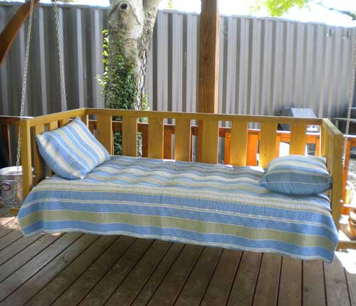 Download porch swing bed plans free plans free for Swing bed plans