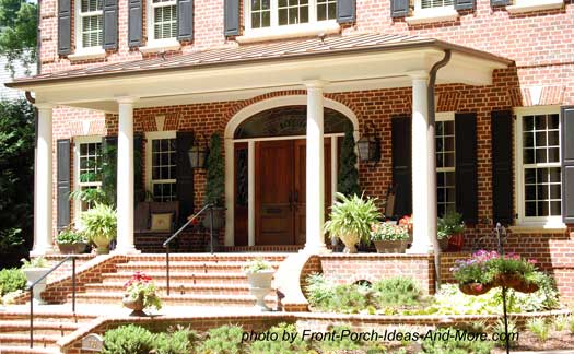 porch design ideas pictures 1000 images about front porchentrance on pinterest colonial house - Home Porch Design