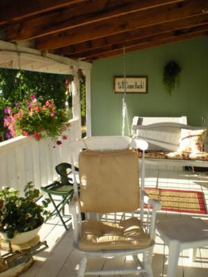 Southern California porch