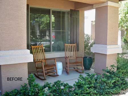 Southwest decorating ideas. Marty confesses that her front porch ... : decorating front porch ideas - www.pureclipart.com