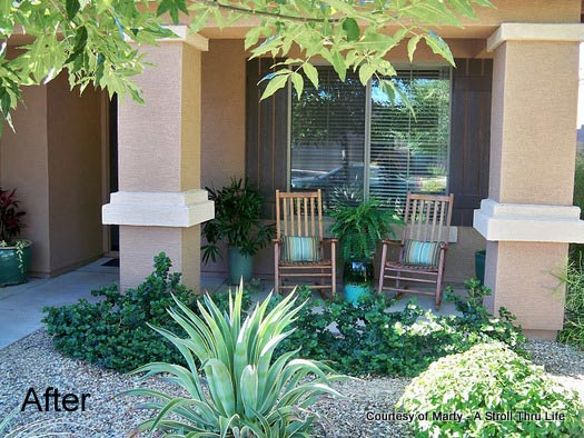 Quick decorating ideas southwest decorating southwest for Front patio ideas