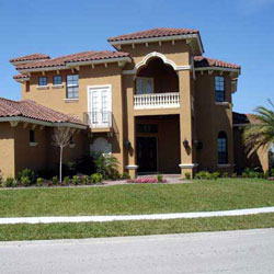 Southwest home design available by Family Home Plans