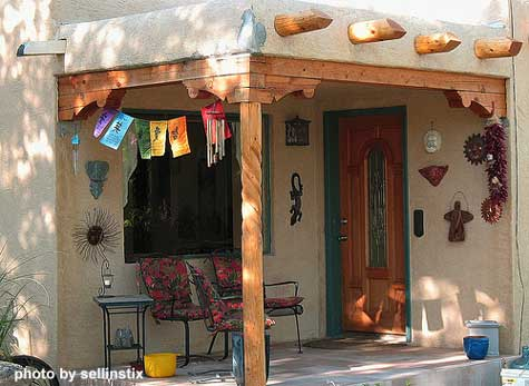 Southwest Porch Designs Design Spanish