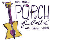 spokane washington porchfest logo