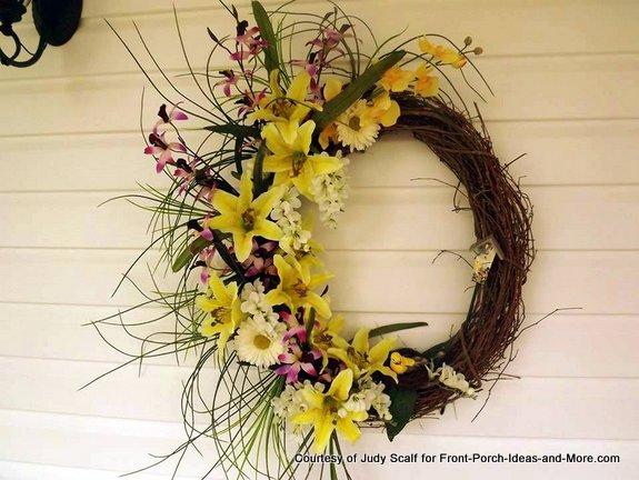 Judy's springtime wreath