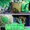spring burplap shamrock pillow pictures