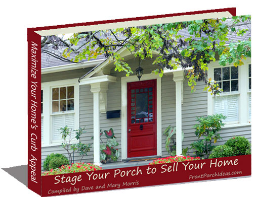 Our complementary porch staging ebook will give you plenty of tips for adding curb appeal to your home and help sell it faster.