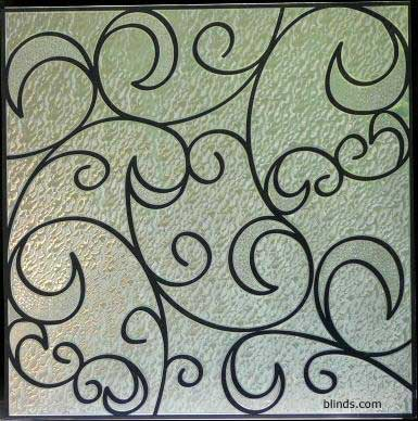stained glass appliques