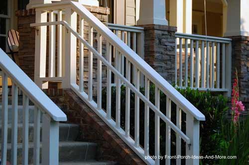 Beautiful stair hand rails