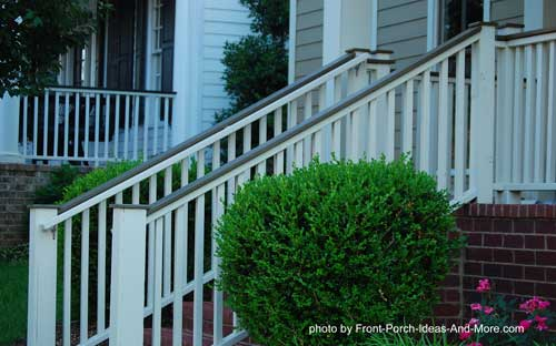 Attractive hand rails