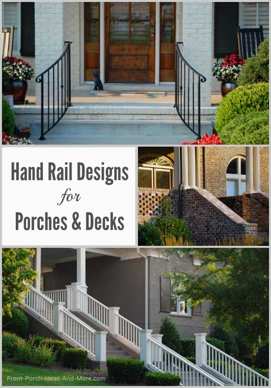 Stair Hand Rails For Porches And Decks