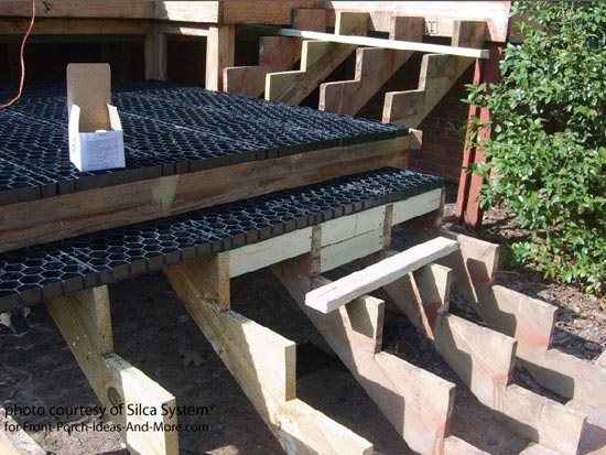 Silca System® Used On Deck Steps