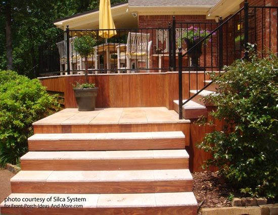 Wood To Stone Decks Decking Materials Silca System 174