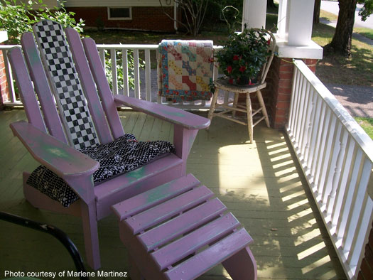 Marlene's pretty porch