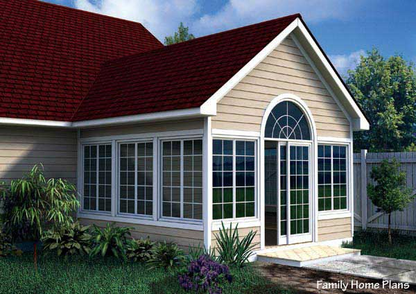 The three season porch is popular as ever for House plans with sunroom