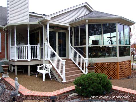 Sunroom ideas sunroom designs three season porch for Porch sunroom
