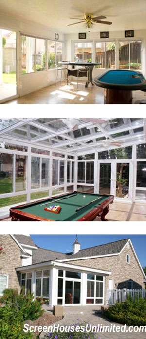 three types of diy sunroom kits