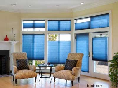 Cordless Top-Down Bottom-Up Cellular Shades