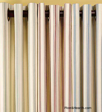 colorful curtain sunroom window treatments
