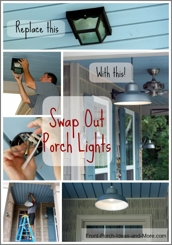 hang a porch light collage