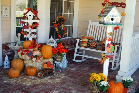 Autumn porch & Autumn Decorating Ideas You Will Enjoy