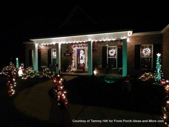 My Christmas porch