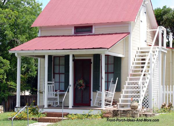 sunday house standing seam metal roof in fredericksburg texas