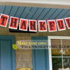 thanksgiving banner with the words thankful