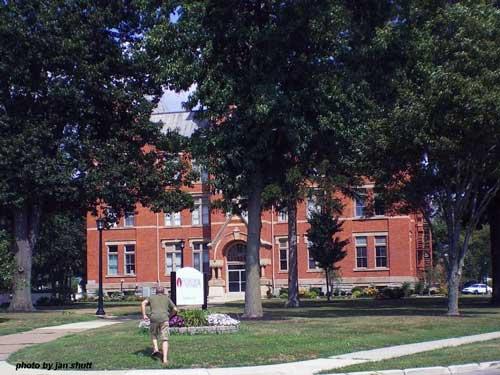 Heidelberg Univeristy campus, Tiffin Ohio