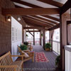 amazing timber framed front porch design