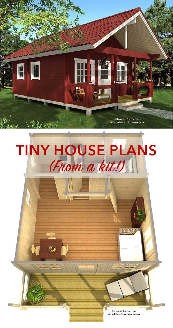 tiny house collage - kits can be purchased online