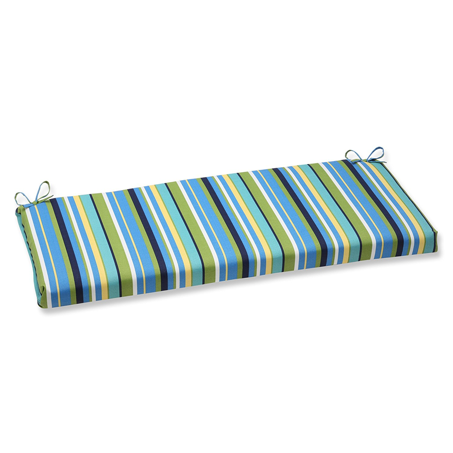 glider cushion with topanga stripes