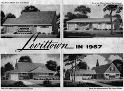 advertisement for tract style homes
