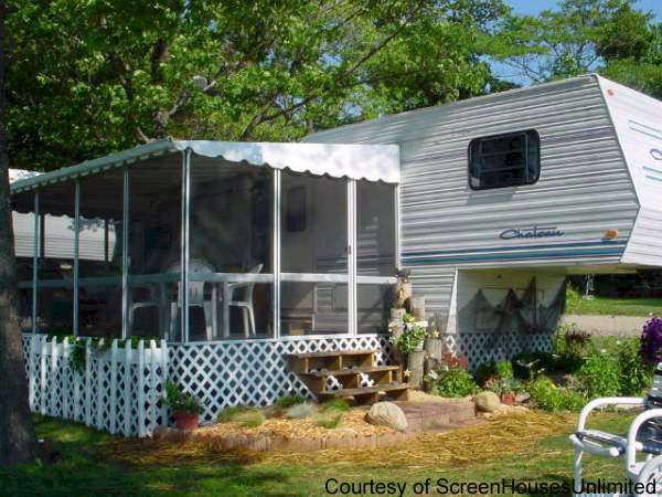 Porch Designs for Mobile Homes | Mobile Home Porches | Porch Ideas on