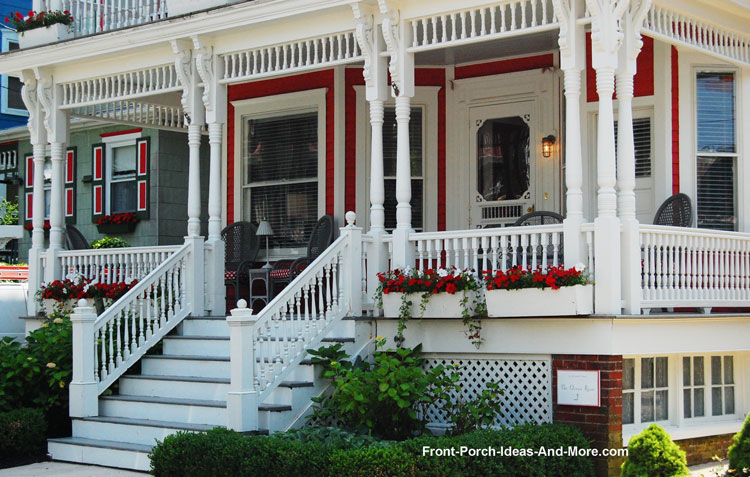 Structural vinyl porch columns columns for front porch - Homes front porch designs pictures ...