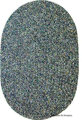 tweed oval outdoor rug