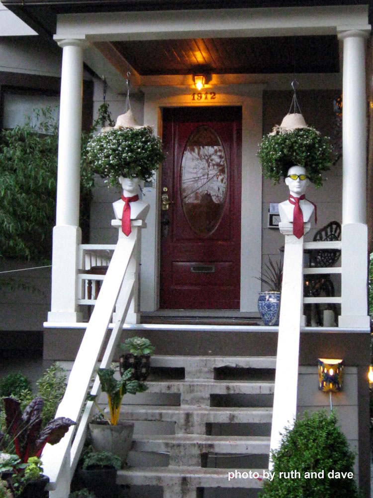 front porch steps without risers