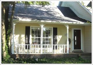 Updating an 80's porch