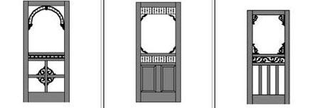 Wood Screen Door Country Designs