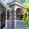 beautiful victorian style front porch columns