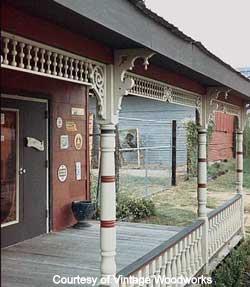 Vintage Porch Parts Exterior House Trim Front Porch Ideas