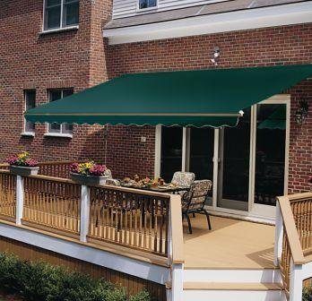 vinyl porch awning