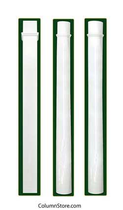 Structural Vinyl Porch Columns Columns For Front Porch