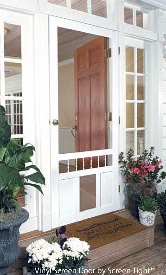 An Exterior Screen Door Brings The Outside In