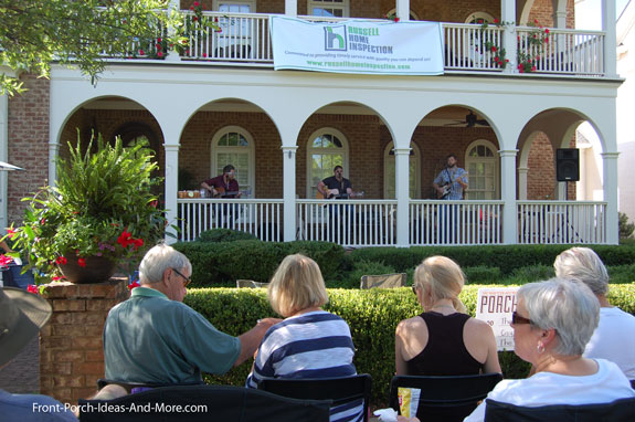 people watching westhaven franklin tennessee porchfest 2015