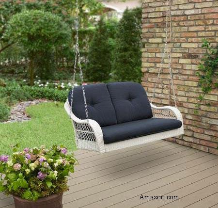 Two Person Wicker Porch Swing   Amazon.com (affiliate)