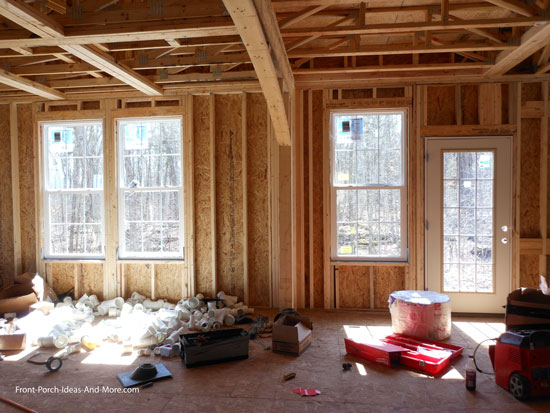 windows installed in living area